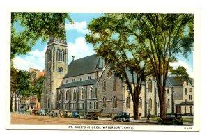 CT - Waterbury. St. John's Church