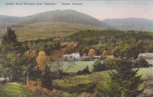 Vermont Dorset The Saddle Back Mountain From Castalie Albertype
