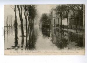 191101 FRANCE flood PARIS 1910 ADVERTISING restaurant Vintage