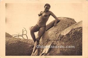 Femme Moundang de Lere African Nude Unused