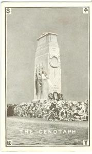 The Cenotaph, World War One Memorial Monument, Whitehall