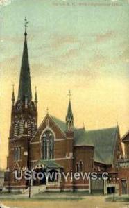 North Congregational Church Concord NH Unused