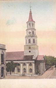 CHARLESTON, South Carolina, 1900-1910´s; St. Michael´s Church