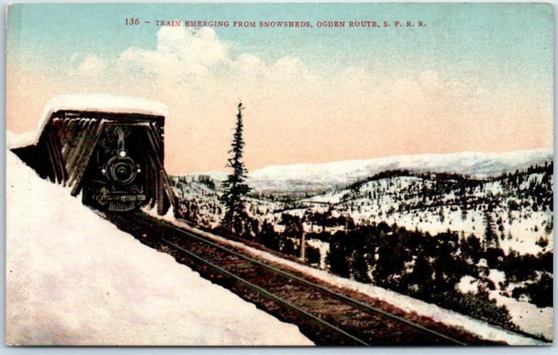Southern Pacific Railroad Postcard