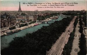 CPA PARIS Panorama sur la Seine (302715)