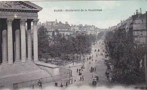 PARIS, Boulevard de la Madeleine, France, 00-10s