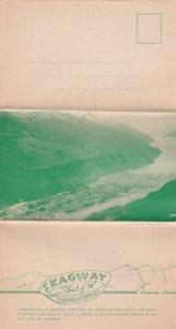 SKAGWAY , Alaska , 1901-07 ; Tri-fold