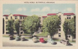 Arkansas Blytheville Hotel Noble