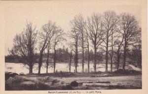 Saint-Launeuc, Le petit Etang, Cote d'Armor, France, 10-20s
