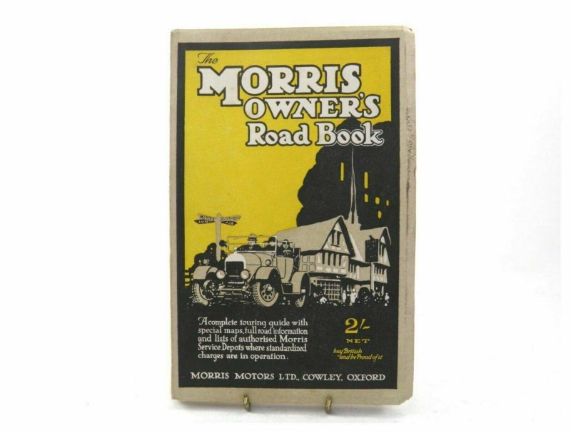 Vintage early 20th century The Morris Owners Road Book 1926 soft cover