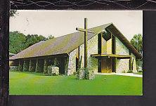 St Edwards Episcopal Church,Mount Dora,FL Postcard BIN