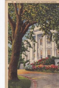 Washington DC  White House South Porch and Presidents ...