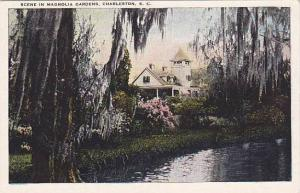 Scene in Magnolia Gardens, Charleston, South Carolina, 10-20s