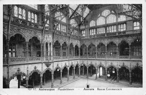 Belgium Antwerpen Handelsbeurs, Anvers Bourse Commerciale