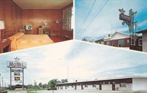 3-Views, Restaurant-Motel L'Oiseua Bleu, Lac A la Tortue--County Laviolette, ...