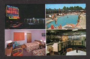NJ Bo Bet Motel MOUNT EPHRAIM NEW JERSEY Postcard PC