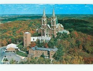 Vintage Postcard Holy Hill Shrine