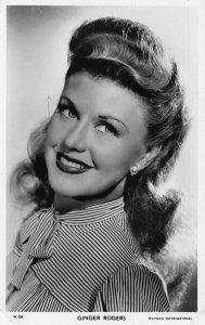 Ginger Rogers Selznick International Film Star Postcard
