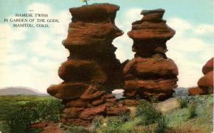CO - Manitou. Garden of the Gods Siamese Twins