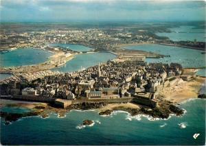 France Saint Malo en L`Isle aerial general view