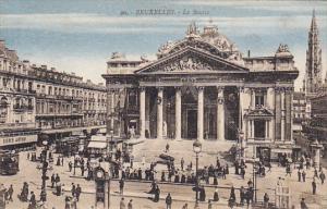 Belgium Brussels La Bourse 1924