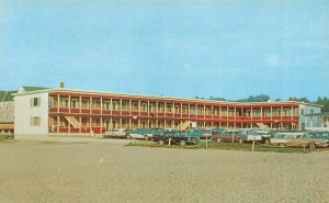 Old Orchard Beach ME Old Colonial Motels Postcard