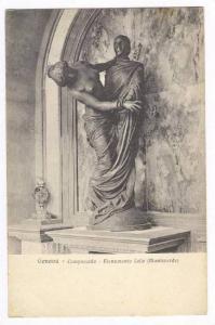 Monumento Celle (Monteverde), Camposanto, Genova (Liguria), Italy, 1900-10s