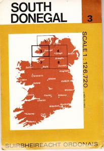 South Donegal Ireland Ordinance Survey