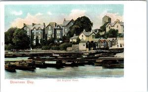 BOWNESS on WINDERMERE, UK   Bowness Bay  OLD ENGLAND HOTEL  c1910s   Postcard