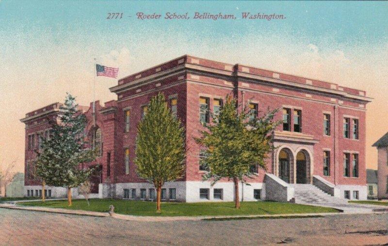 BELLINGHAM, Washington, 1900-10s; Roeder School