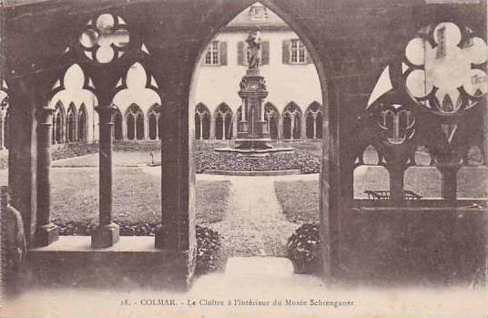 France Colmar Le Cloitre a l'interieur du Musee Schoengauer