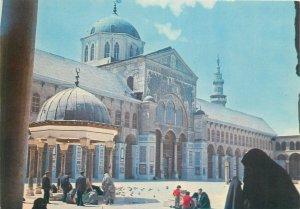 Postcard Syria Damascus mosque