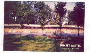 Sunset Motel, Renfrew,Canada, 40-60s