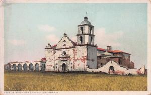 Mission San Luis Rey, California, Early Postcard, Unused