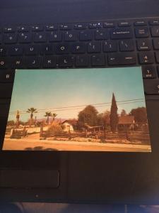 Vintage Postcard: Adobe De Palomares , Pomona CA