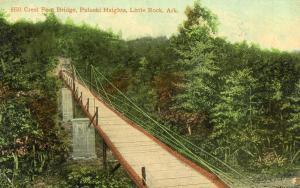 AR - Little Rock. Pulaski Heights, Hill Crest Foot Bridge