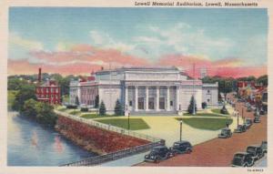 Massachusetts Lowell Memorial Auditorium Curteich