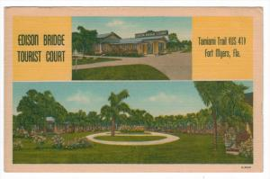 Florida  Fort Myers  Edison Bridge Tourist Court