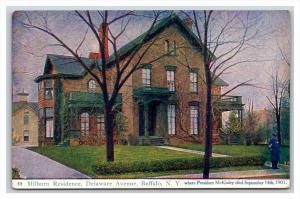 14571  NY Buffalo  Milburn Residence, Delaware Avenue , Pres. McKinley died here