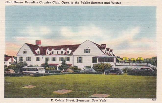 New York Syracuse Drumlins Country Club Club House