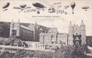 Balloons over Royal Victoria Hospital , MONTREAL , Quebec , Canada ,  00-10s