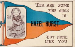 Pennant Series Humour Der Are Some Fine Girls In Hazel Hurst Pennsylvania 1913