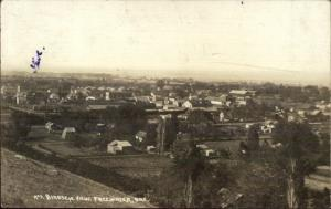 Freewater Oregon OR Birdseye View c1910 Real Photo Postcard