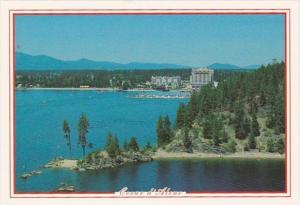 Idaho Lake Coeur d' Alene Showing Tubbs Hill