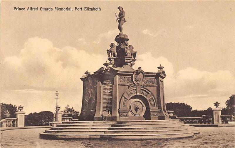 South Africa, Port Elizabeth, Prince Alfred Guards Memorial