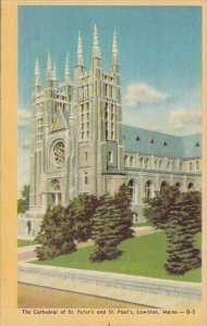 The Cathedral Of Saint Peter's And Saint Paul's Lewiston Maine