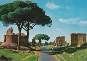 Italy Roma Appia Antica Street