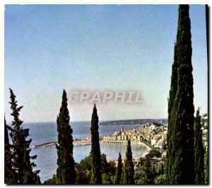Postcard Modern Wonders sites of the French Riviera Menton M escaped the city...