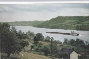View From the Rev. John Rankin House, Ohio River, RIPLEY, Ohio, 40-60's