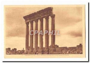 Syria Baalbek CARTE Old Post The last six columns of the Temple of Jupiter 54